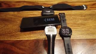 Garmin Fenix 6 Pro Test HR-Messung - Vergleich zwischen Handgelenk- und Brustgurtpulsmessung