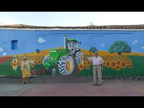 La confección del mural. /IEC
