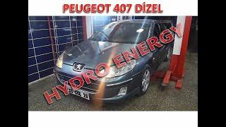 Peugeot 407 hidrojen yakıt sistem montajı