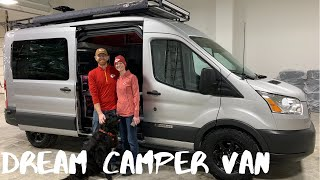 Engineer Couple Helped Build Their Dream VanDOit