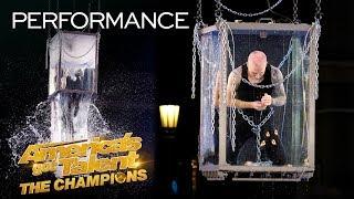 Spencer Horsman Attempts His MOST DANGEROUS Escape Yet! - America's Got Talent: The Champions thumbnail