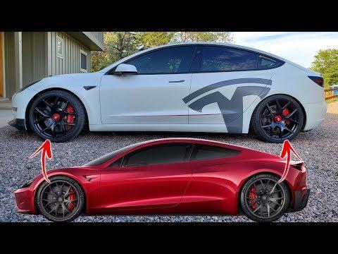 2020 Tesla Roadster Wheels For My Model 3!