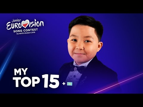 Junior Eurovision 2019 - Top 15 (So far)
