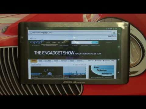 Archos 101 Android Internet Tablet Review by The Digital Digest