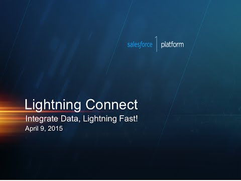 Access External Data in Real-time with Lightning Connect