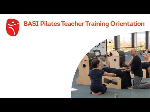 BASI Pilates Teacher Training Orientation - YouTube