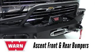 In the Garage™ with Total Truck Centers™: WARN Ascent Front & Rear Bumpers