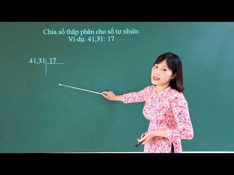 Ôn tập các phép tính với số thập phân - Môn Toán lớp 5