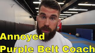 "Don't Become The White Belt ""Coach"" in Your BJJ Gym"