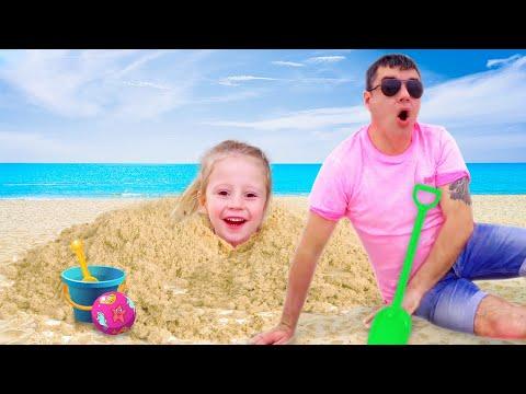 ناستيا وأرتيم ، مجموعة قصص للأطفال عن الألعاب والأنشطة الخارجية