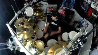Phil Collins   In The Air Tonight   Drum Cover   Featuring Pearl E Pro Live Drums!