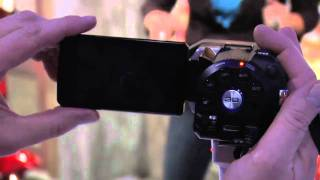 JVC at CES 2011 -- Full HD 3D Camcorder