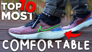 Top 10 MOST COMFORTABLE Sneakers of 2021