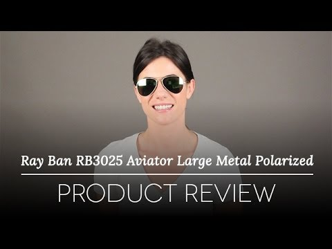 Ray-Ban RB3025 Aviator Large Metal 112/19 Sunglasses Review