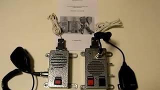 Новое автомобильное переговорное устройство «CПД-АВТО-2Т» ВОДИТЕЛЬ - САЛОН (кабина автомобиля - кунг) от компании ТОВ Кварц-зв'язок - видео
