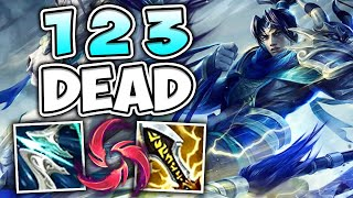 PRESS E AND ONE SHOT ANYONE! FULL CRIT XIN ZHAO AUTOS HIT LIKE A TRUCK - League of Legends