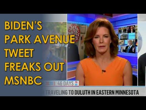 MSNBC Host Stephanie Ruhle and Soledad O'Brien FREAK OUT at Joe Biden's Park Avenue Tweet