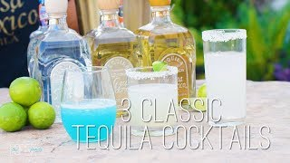Three Tequila Cocktail Recipes With Mario Lopez