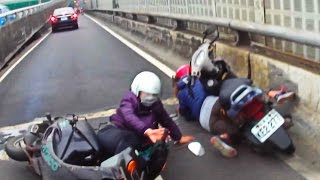 Scooter Crash Scooter Crash Compilation Driving in Asia 2015 Part 20