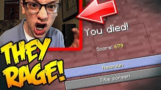 Minecraft TROLLING YOUTUBER WHILE HE'S STREAMING!!