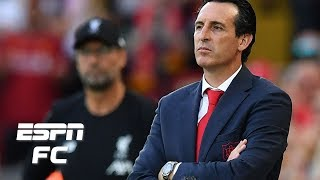 ESPN FC's Craig Burley and Steve Nicol are absolutely baffled by Arsenal's tactical approach vs. Liverpool in a 3-1 loss. Between allowing Liverpool fullbacks Trent Alexander-Arnold and Andrew Robertson freedom on the wings and Unai Emery's decision to start Nicolas Pepe instead of Alexandre Lacazette next to Pierre-Emerick Aubameyang, Burley and Nicol question just about everything the Gunners tried to do at Anfield.  #ESPNFC  For more from ESPN FC TV, sign up for ESPN+: https://plus.espn.com/  ✔ Subscribe to ESPN FC on YouTube: http://bit.ly/SUBSCRIBEtoESPNFC