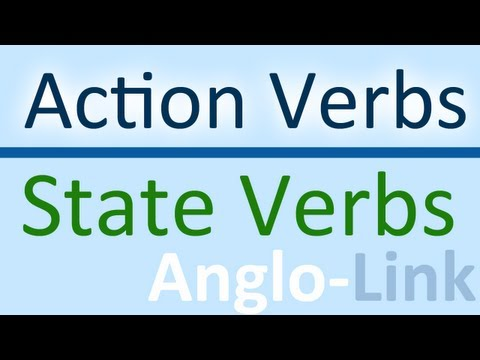 Action Verbs vs State Verbs - Learn English Tenses (Lesson 5)