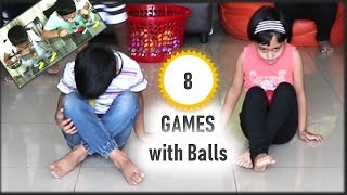 Party Games | 8 Funny  Games For Kids And Adults | Birthday Party Games | With Balls (2019)