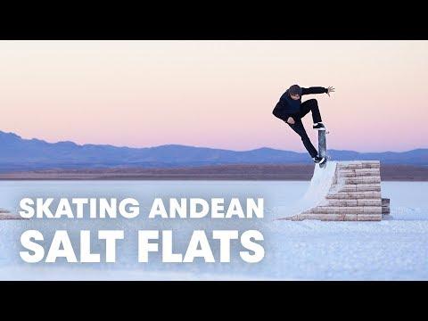They Built A Skatepark Out Of Salt   Jaakko Ojanen's White Desert
