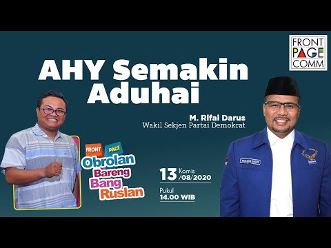 FRONT PAGE | AHY Semakin Aduhai