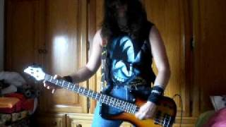 Abduction- D.R.I. (cover bass)