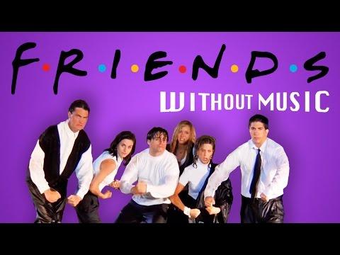 hqdefault - El comienzo de Friends pero sin musica