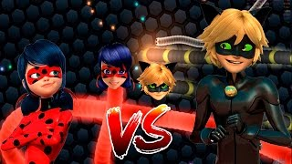 slither.io  Miraculous Ladybug Vs Cat Noir batalha jogo cobra ...