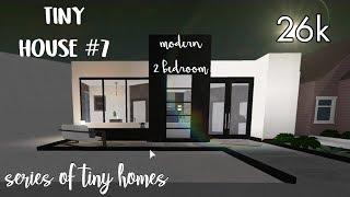 Modern House Bloxburg Small Modern House