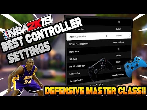 NBA 2K19 : Best Passing Settings!! Tested & Proven Passing