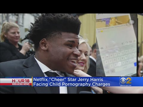 'Cheer' Star Jerry Harris Facing Child Pornography Charges