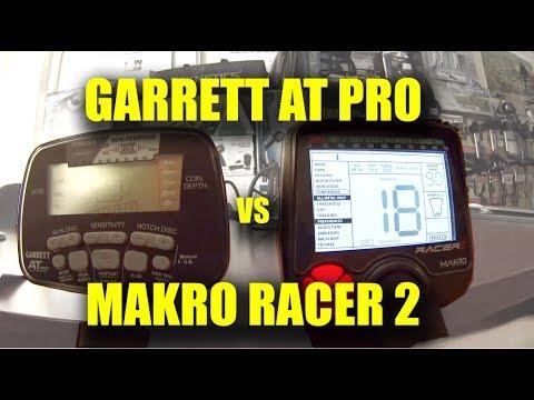 Garrett AT Pro vs Makro Racer 2
