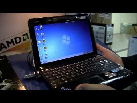 MSI Wind U135DX Dodgers Netbook Hands On