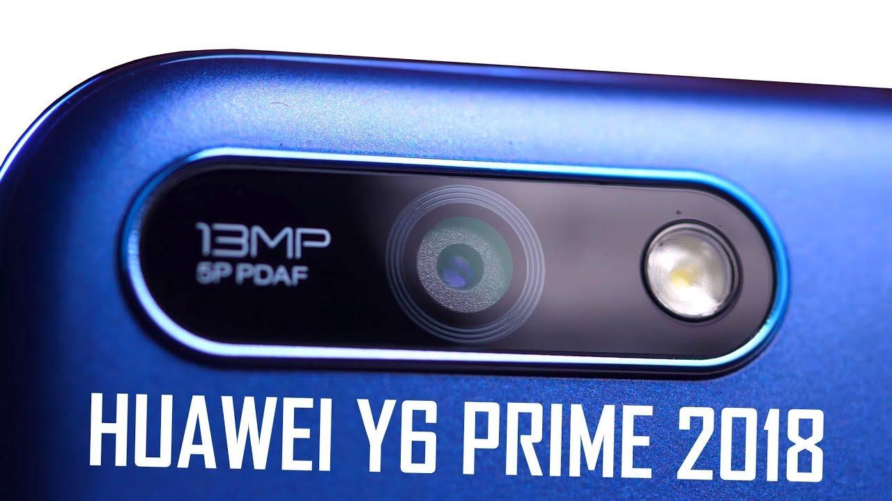 Видео Huawei Y6 Prime Синий