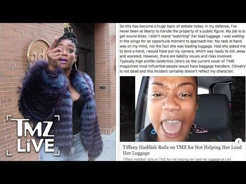 Tiffany Haddish Rails On TMZ!   TMZ Live