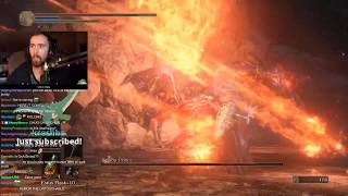 Asmongold's Ninth Stream of Dark Souls 3 | FULL VOD