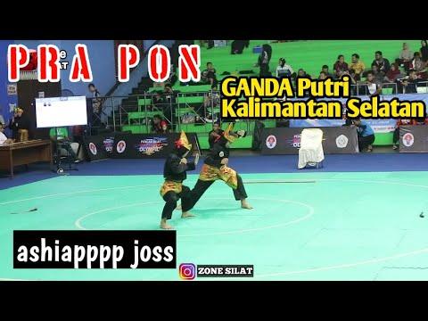 Ganda PUTRI  Kalimantan Selatan PRA PON