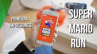 Super Mario Run, toma de contacto
