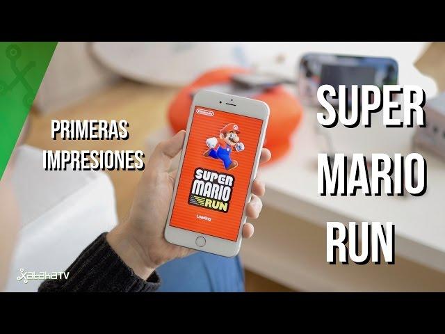Primer contacto con Super Mario Run