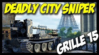 ► Grille 15 - Crazy RNG, Deadly City Sniper! - World of Tanks Grille 15 Gameplay