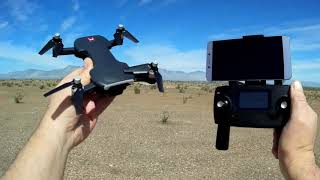 MJX Bugs 7 B7 No Registration GPS Brushless 4K Video Drone Flight Test Review