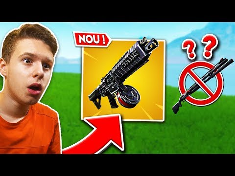 NOUL *UPDATE* pe FORTNITE ! - DRUM SHOTGUN este CIUDAT !