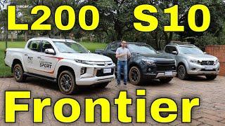 Comparativo: L200 x Frontier x S10