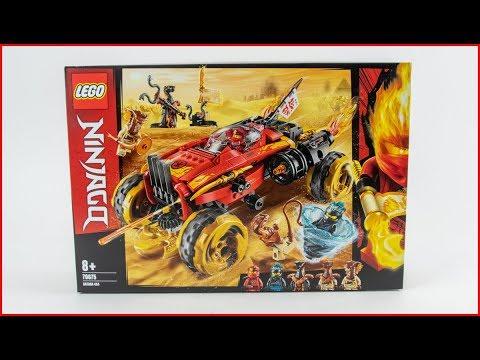 Vidéo LEGO Ninjago 70675 : Le 4x4 Katana