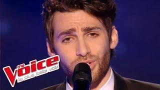 The Voice 2016 │Lukas K  Abdul - Les mots bleus (Christophe) │Blind Audition