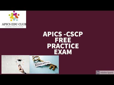 APICS CSCP - Free Practice Set Exam - YouTube